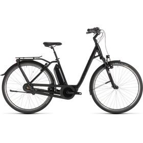 Cube Town Hybrid EXC RT 500 Bicicletta elettrica da città Easy Entry nero